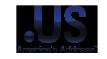 Logo Extension nom de domaine US